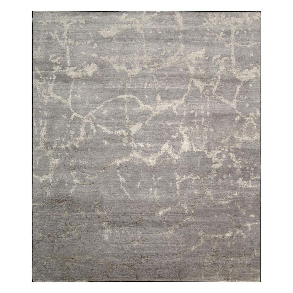"Nourison Silk Shadow SHA02 7'9"" x 9'9"" Silver Area Rug, , large"