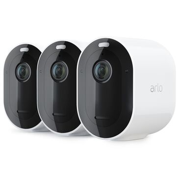 Arlo Pro 3 2K QHD Wire-Free Security 3 Camera kit in White, , large