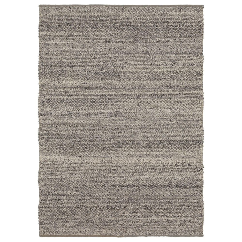 Karastan Tableau RG181-131 9' x 12' Umbra Grey Area Rug, , large