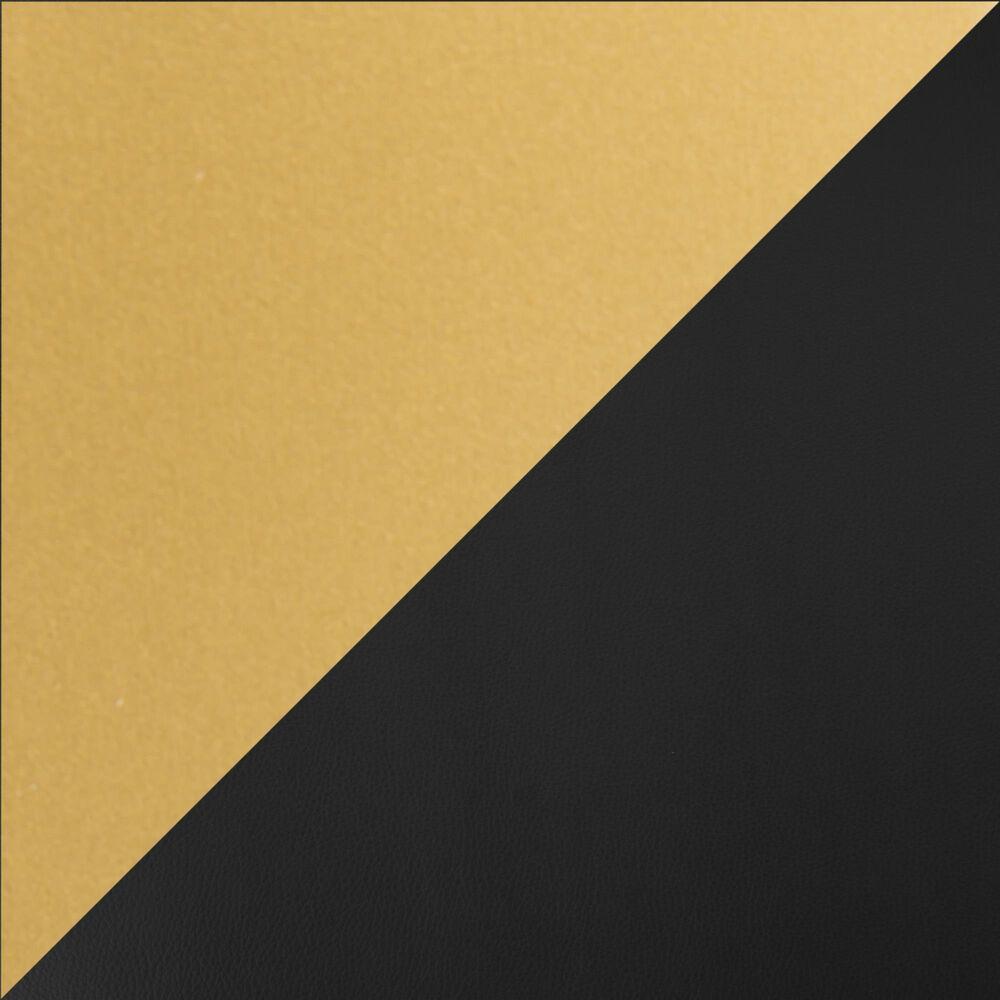 Lumisource Fuji Barstool in Black/Gold (Set of 2), , large