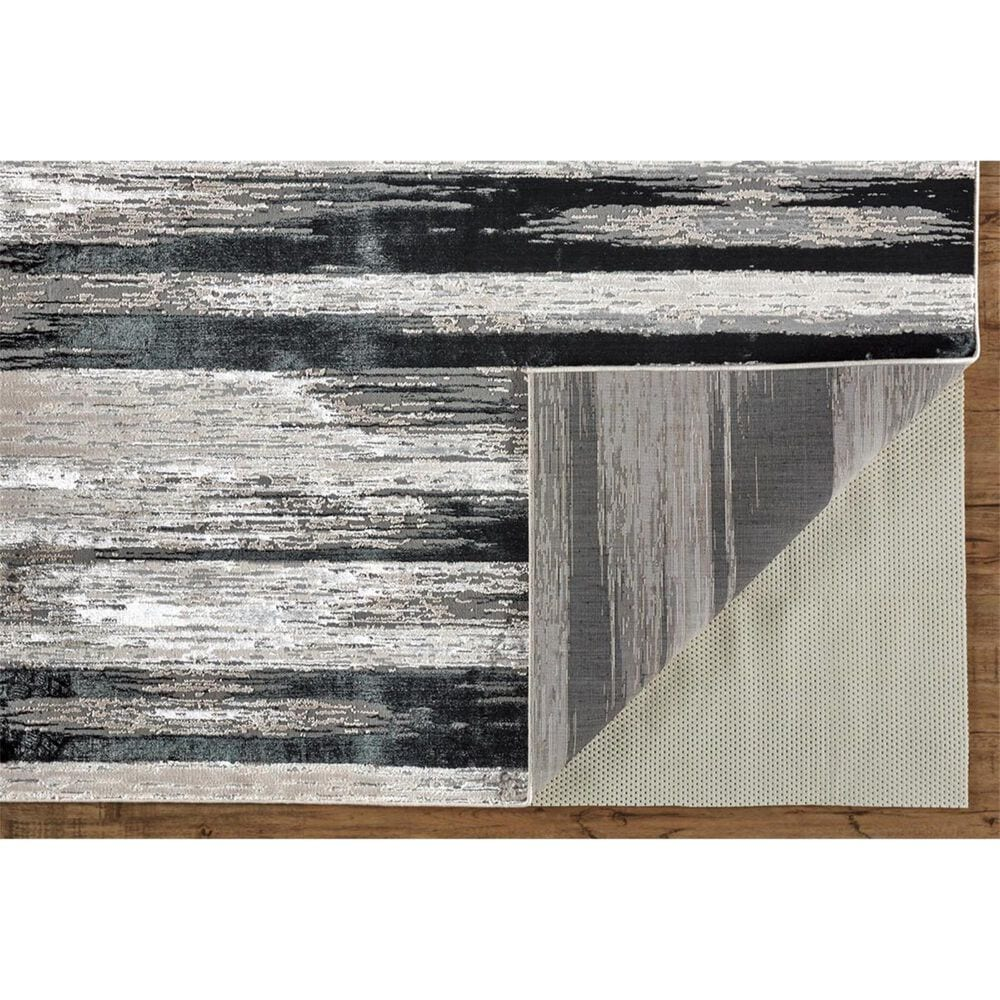 """Feizy Rugs Micah 3338F 10' x 13'2"""" Black and Silver Area Rug, , large"""