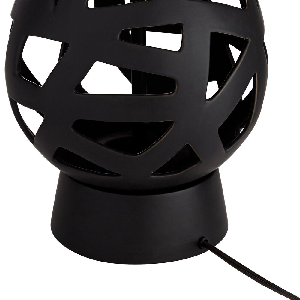 Pacific Coast Lighting Rubin Table Lamp in Black, , large