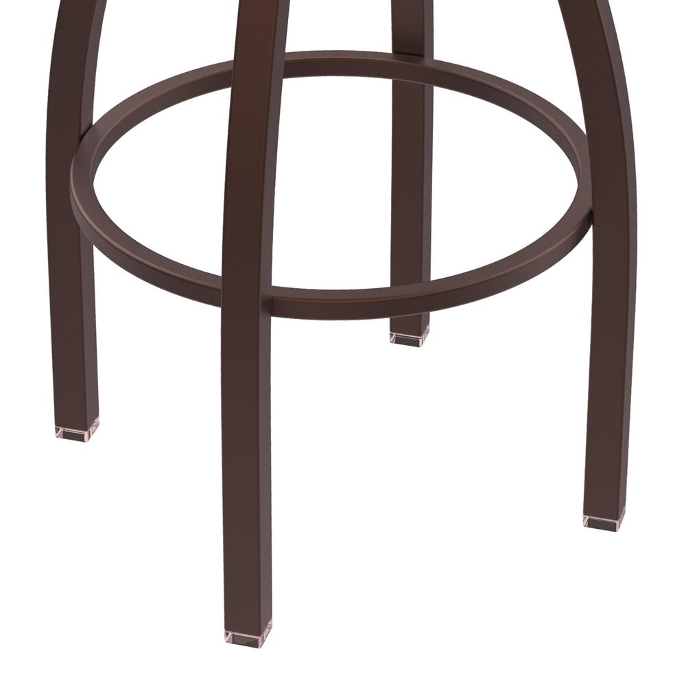 """Holland Bar Stool 802 Misha 25"""" Swivel Counter Stool with Bronze and Natural Oak Seat, , large"""