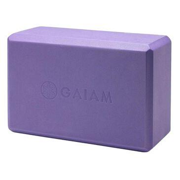 Gaiam Yoga Essentials Block, Purple, large