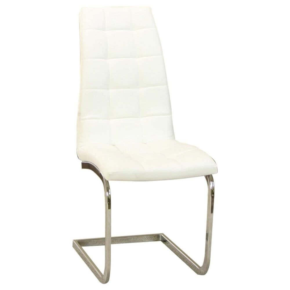 Penny Lane Padria Side Chair in White, , large