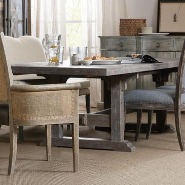 "Hooker Furniture Beaumont 84""- 128"" Dining Table in Shale - Table Only, , large"