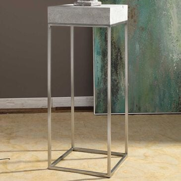 Uttermost Jude Plant Stand in Grey, , large