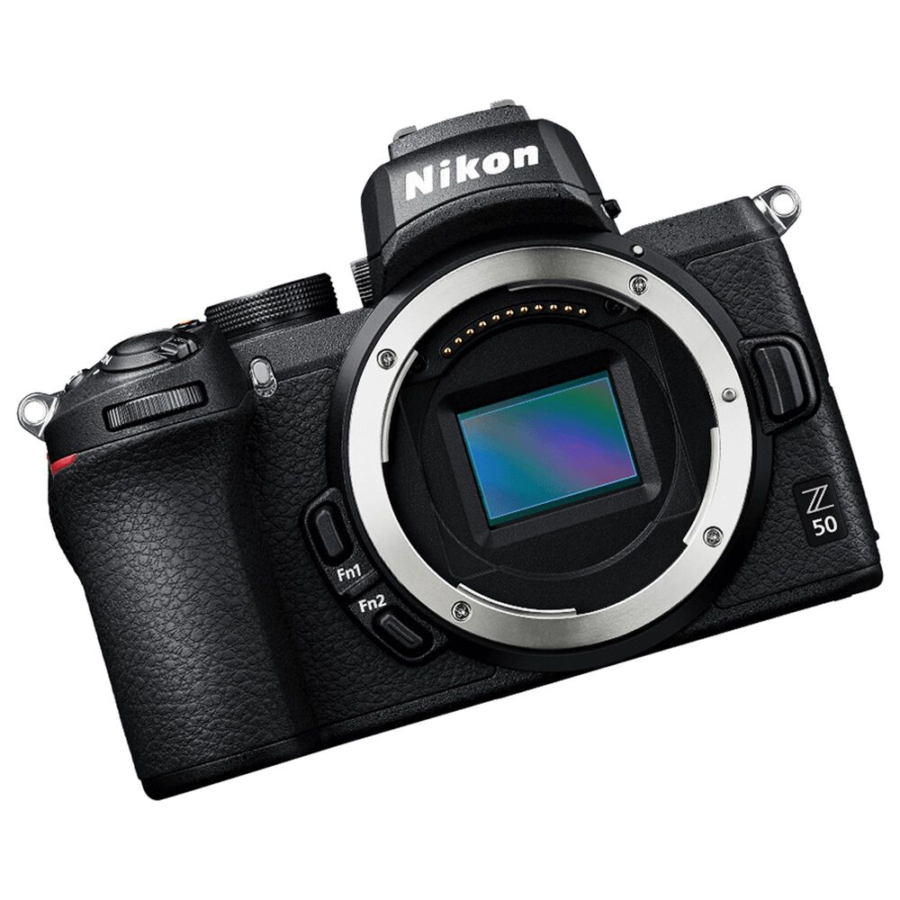 Nikon Z 50 Mirrorless Digital Camera with 50-250mm f/4.5-6.3 VR and 16-50mm f/3.5-6.3 VR Lens in Black, , large