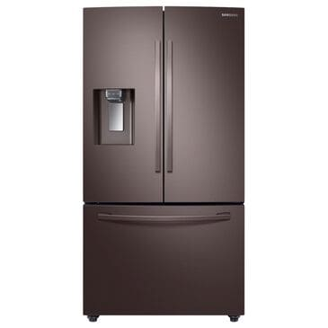 Samsung 22.6 Cu. Ft. Counter-Depth French Door Refrigerator in Tuscan Stainless Steel, , large