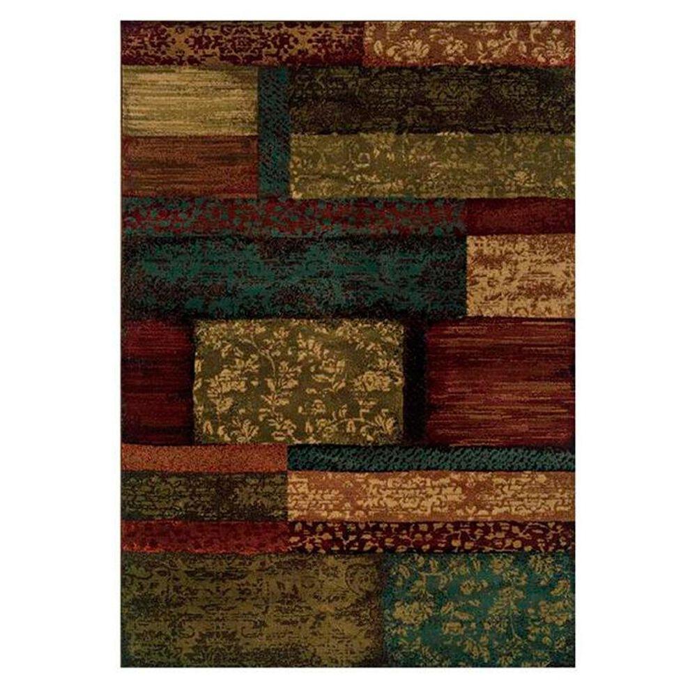 "Oriental Weavers Emerson 2480C 6'7"" x 9'6"" Multi-Colored Area Rug, , large"