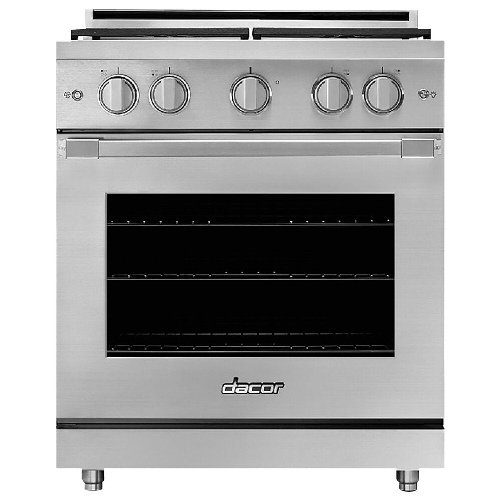 """Dacor 30"""" Professional Natural Gas Range with High Altitude in Stainless Steel, , large"""