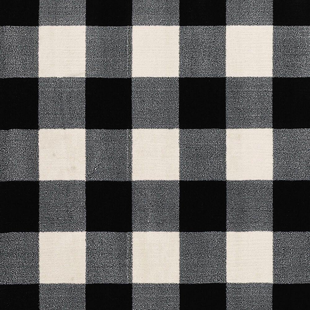 "Oriental Weavers Georgia Geometric 678D0 9'10"" x 12'10"" Black Area Rug, , large"
