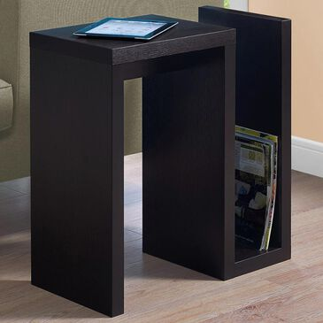 """Monarch Specialties 24"""" Accent Table in Cappuccino, , large"""
