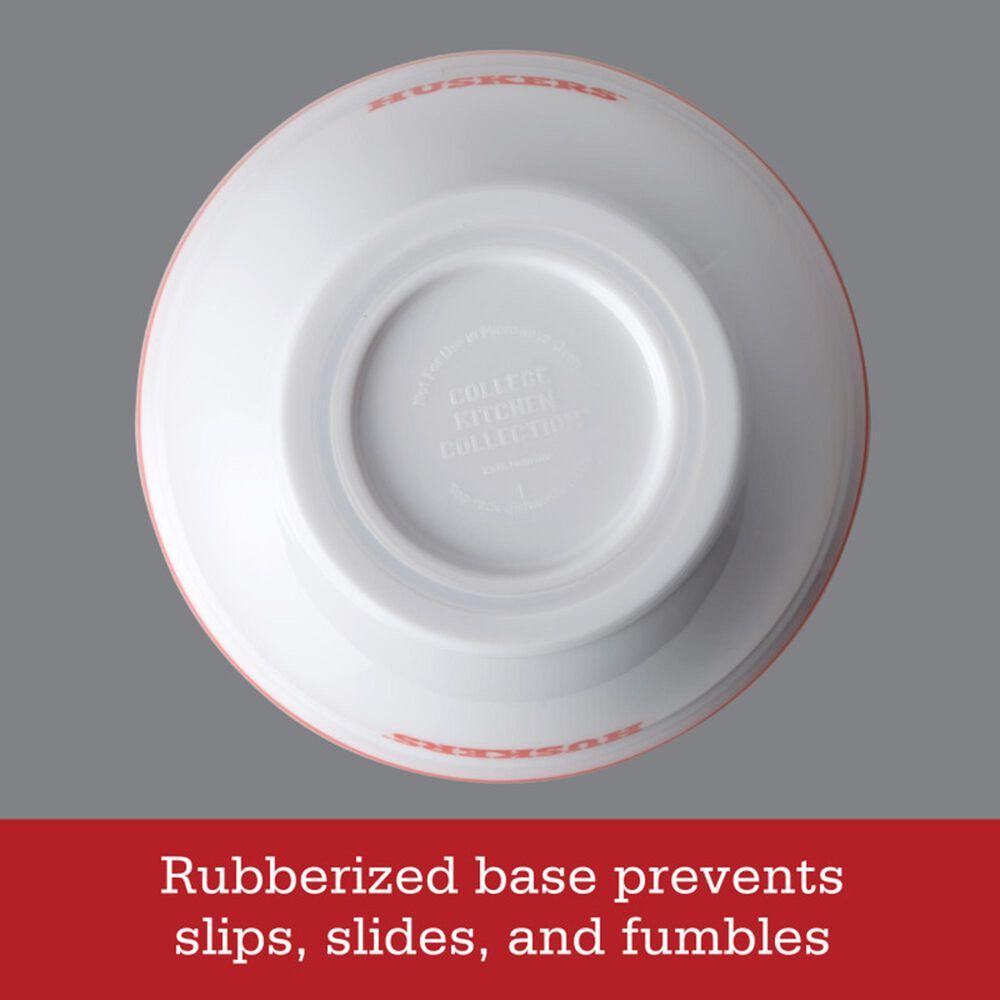 Nebraska Cornhuskers 4-Piece Party Bowls in White, , large