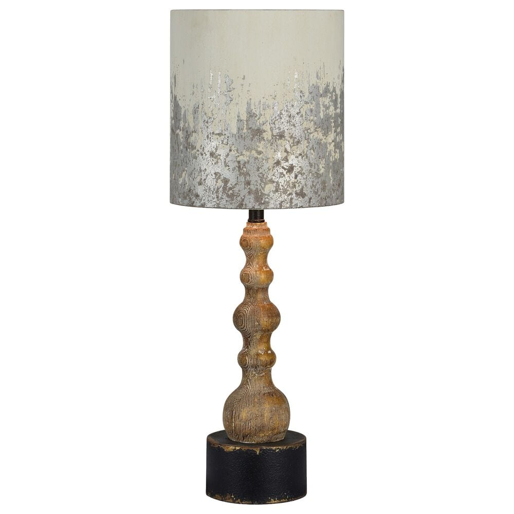 Southern Lighting Knight Table Lamp in Brown and Black, , large
