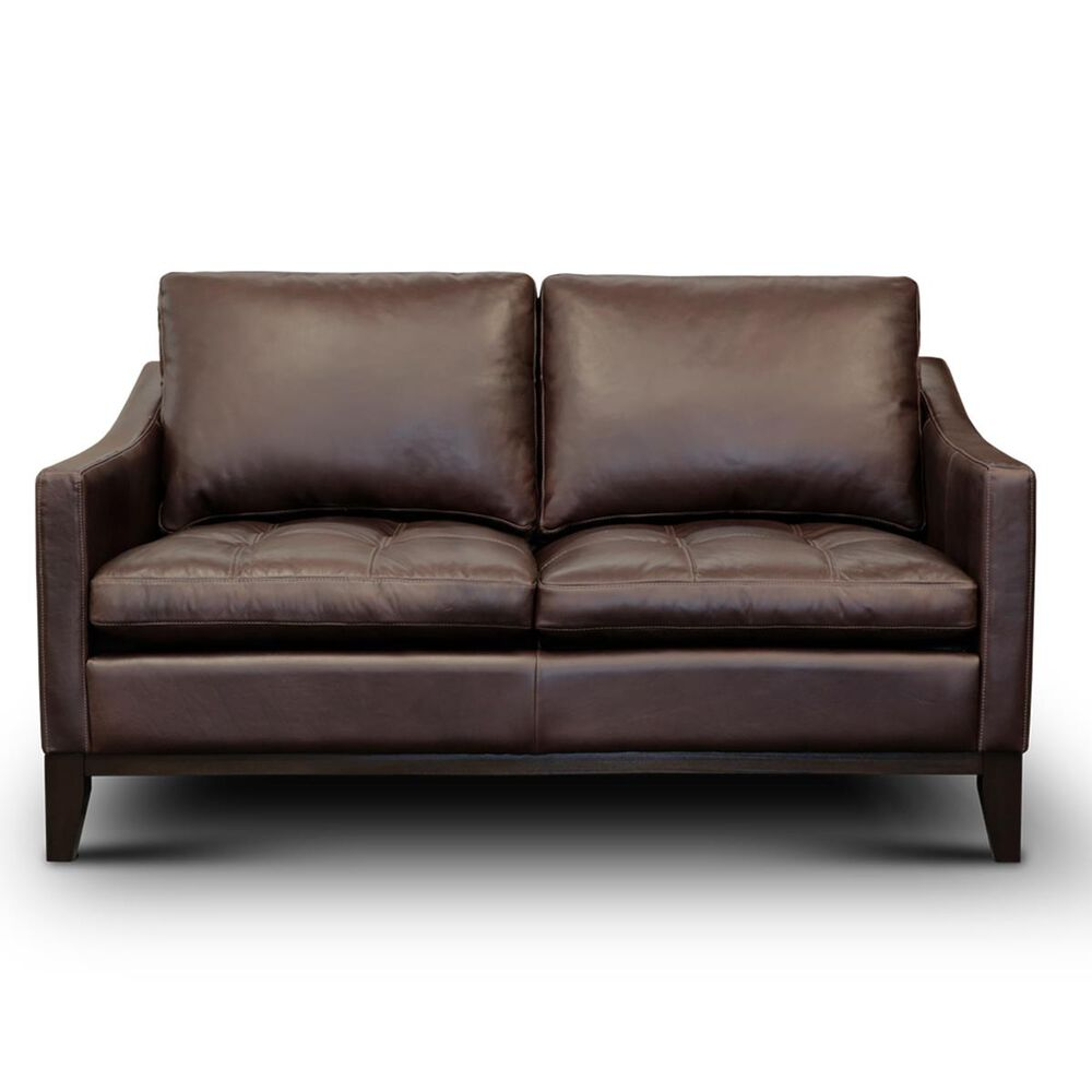 GTR Leather Inc. Torino Loveseat in Monza Walnut, , large