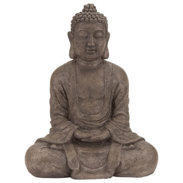 """Maple and Jade 31"""" Bohemian Polystone Sculpture in Brown, , large"""