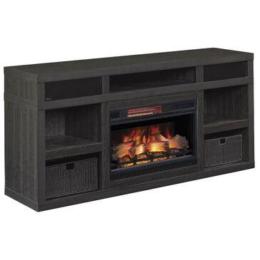 "Fabio Flames Greatlin 64"" TV Stand in Black Walnut, , large"