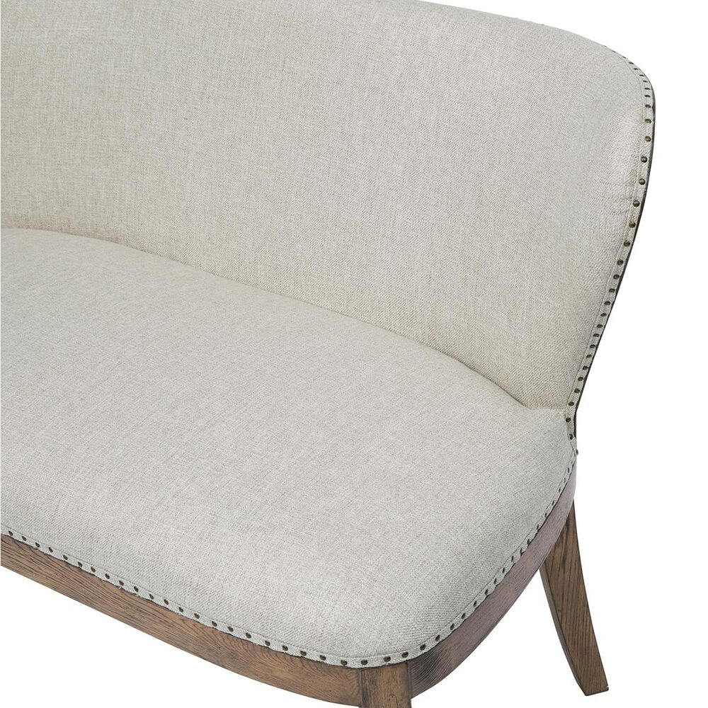 Accentric Approach Accentric Accents Sofa Bench in Linen, , large