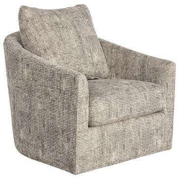 Bernhardt Astoria Swivel Chair in Tan, , large