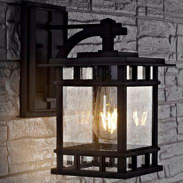 Safavieh Grayter Outdoor Wall Lantern in Black, , large