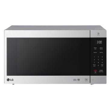 LG 2.0 Cu. Ft. NeoChef Countertop Microwave with Smart Inverter in Stainless Steel, , large