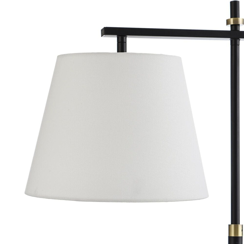 Flair Industries Task Desk Lamp in Brierley Gold and Black, , large