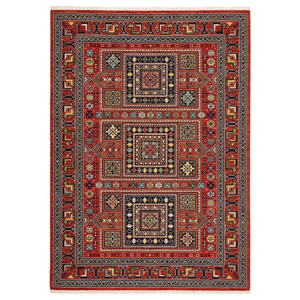 Oriental Weavers Lilihan Geometric 002C6 2' x 6' Red Scatter Rug, , large