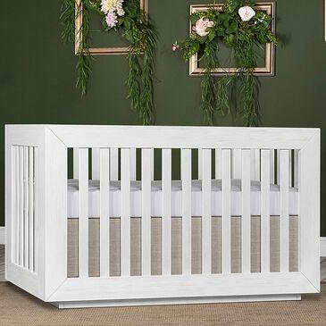 Evolur Maddox Convertible Crib in Weathered White, , large