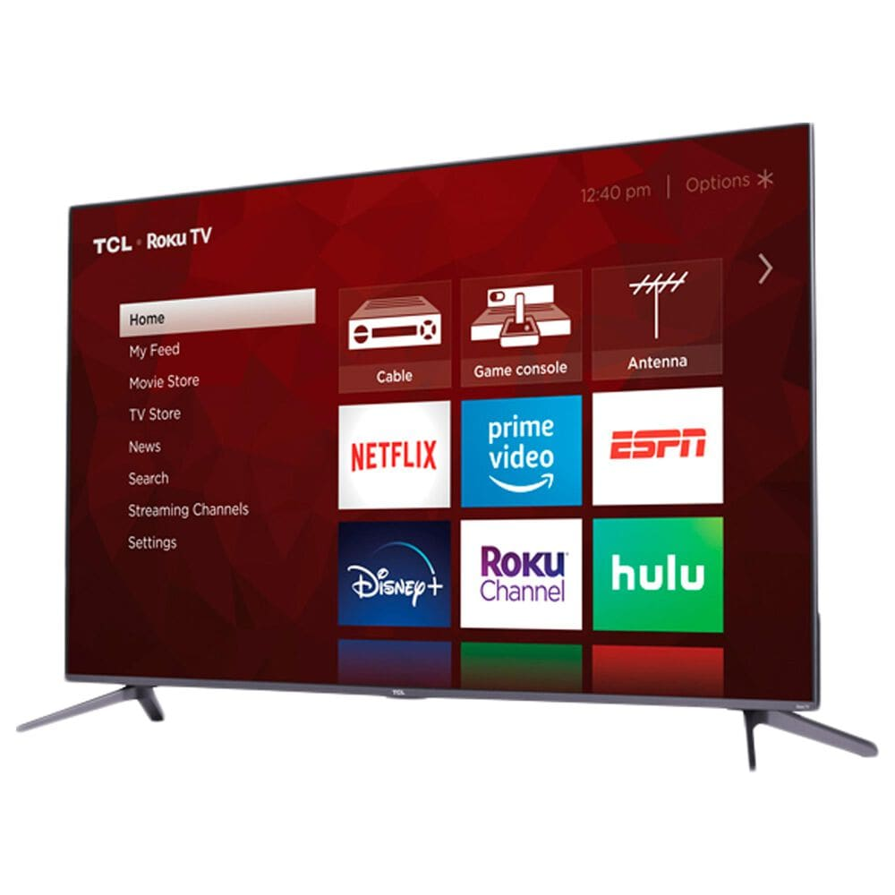 """TCL 50"""" Class 5 Series QLED 4K UHD Smart Roku TV with Alto 3 2.0 Channel Sound Bar in Black, , large"""