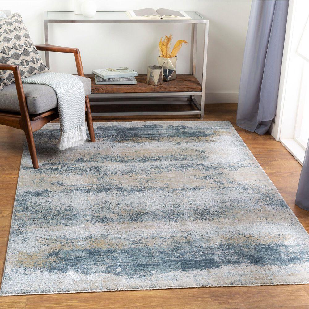 "Surya Brunswick 5' x 7'5"" Sage, Gray, White and Blue Area Rug, , large"