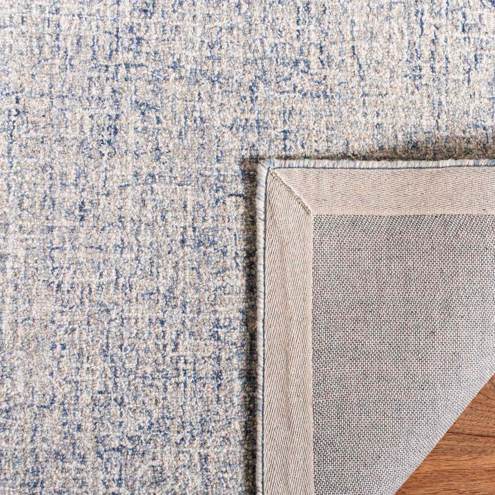 Safavieh Abstract ABT471M  5' x 8' Ivory and Blue Area Rug, , large