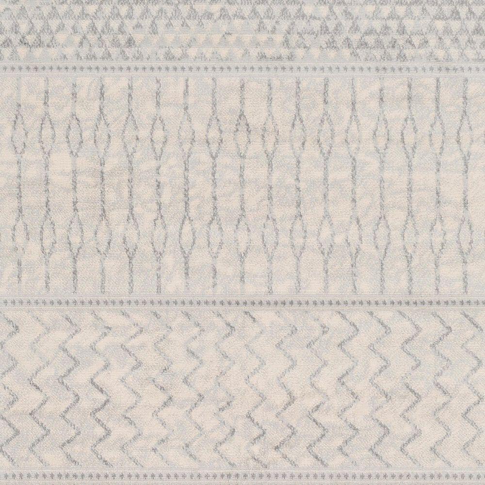 "Surya Monaco MOC-2306 6'9"" x 9'9"" Silver Gray and Cream Area Rug, , large"