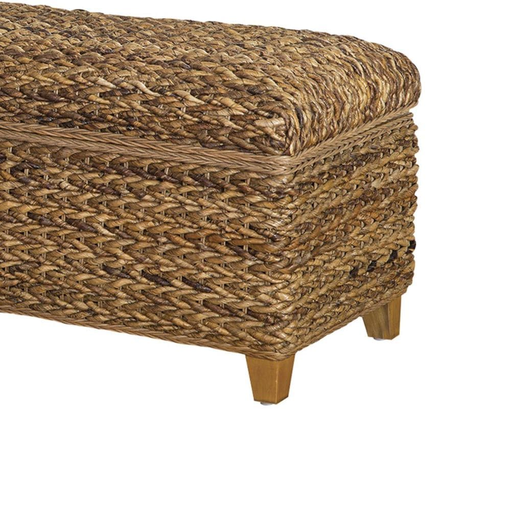 Pacific Landing Laughton Woven Banana Leaf Trunk in Natural, , large