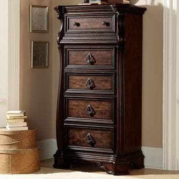 Belle Furnishings Arbor Place Lingerie Chest in Brownstone, , large