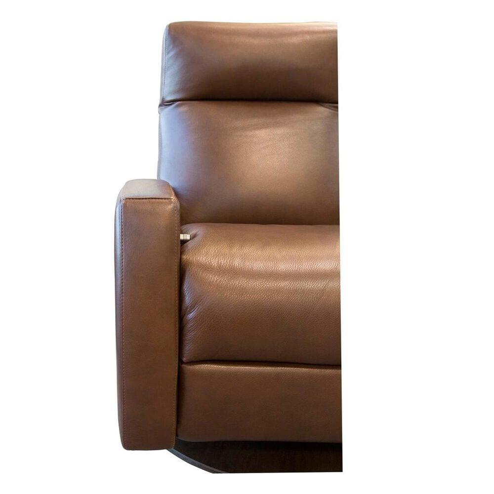 American Leather Tight Back Recliner in Tobacco, , large