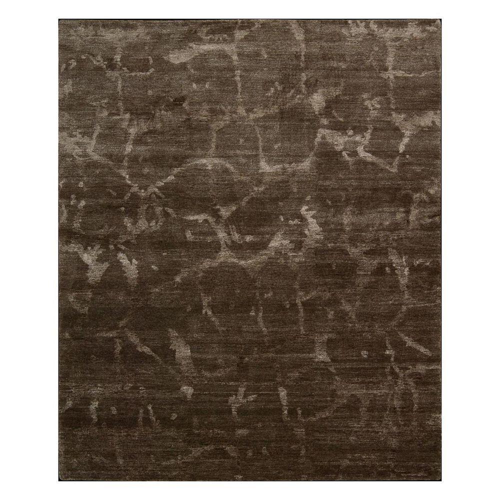 "Nourison Silk Shadows SHA02 5'6"" x 7'5"" Brown Area Rug, , large"