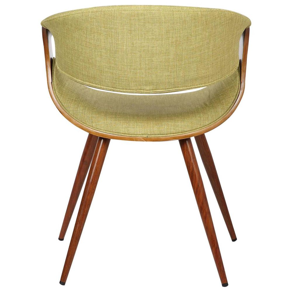 Blue River Butterfly Dining Chair in Green and Walnut, , large