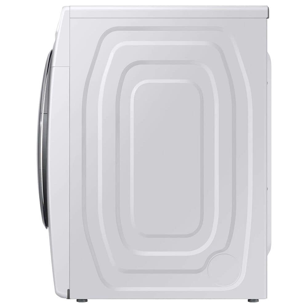 Samsung 4.5 Cu. Ft. Front Load Washer with Super Speed and 7.5 Cu. Ft. Electric Dryer Laundry Pair in White, , large
