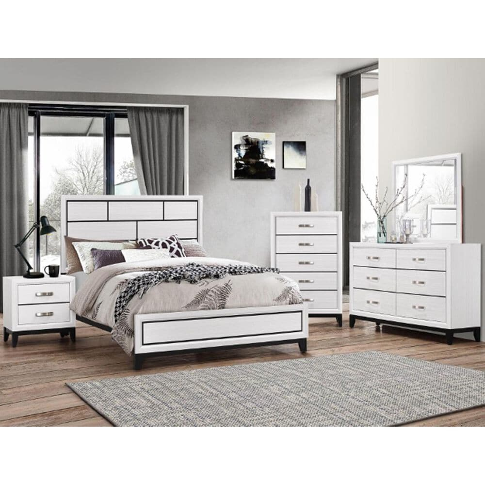 Claremont Akerson Chalk Chest in White, , large
