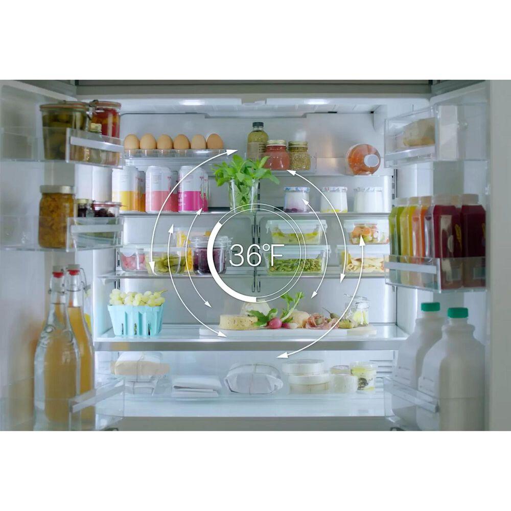 """Bosch Benchmark 18"""" Single Door Built-In Freezer Refrigerator in Stainless Steel, , large"""