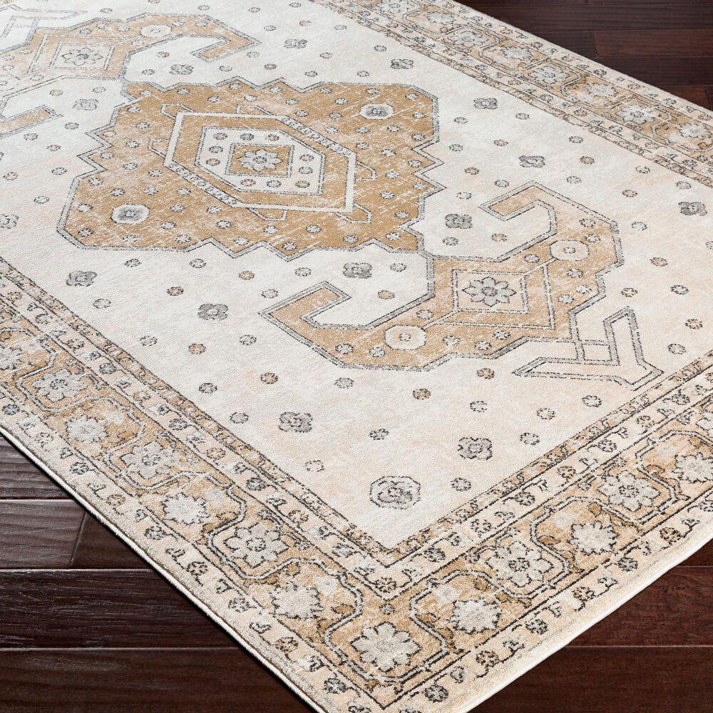 "Surya Indigo IGO-2321 7'9"" x 10'3"" Tan, Gray and White Area Rug, , large"