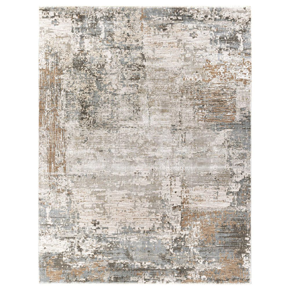 Surya Brunswick 12' x 15' Sage, Brown, Gray, White and Teal Area Rug, , large