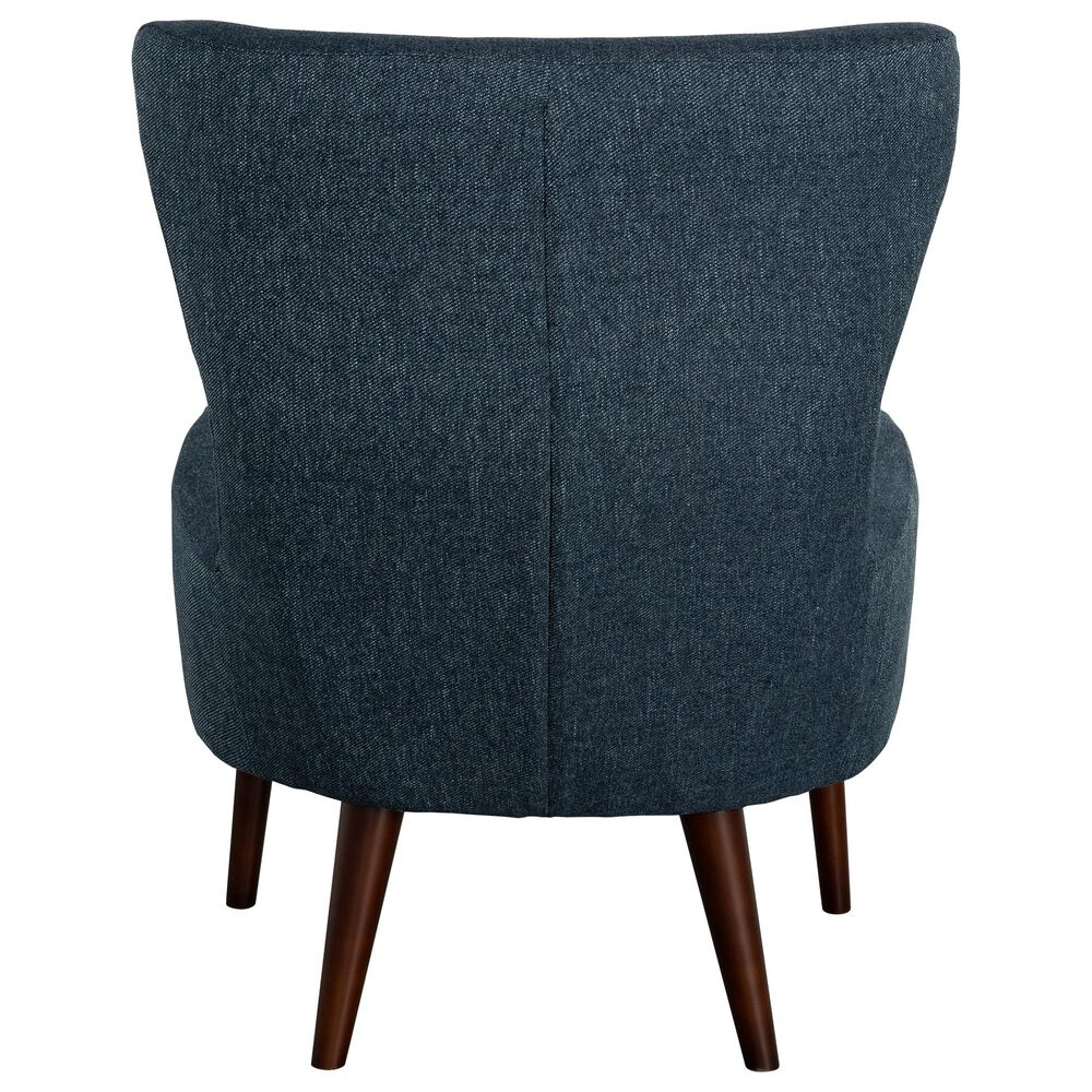 Urban Chic Erika Accent Chair in Blue, , large