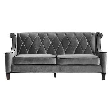 Blue River Barrister Sofa in Gray Velvet, , large