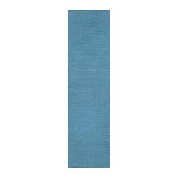 """Surya Mystique M-342 2'6"""" x 8' Aqua Blue Runner, , large"""