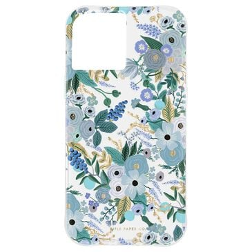 Rifle Paper Co. Rifle Paper Case for iPhone 12 Pro Max - Garden Party Blue, , large