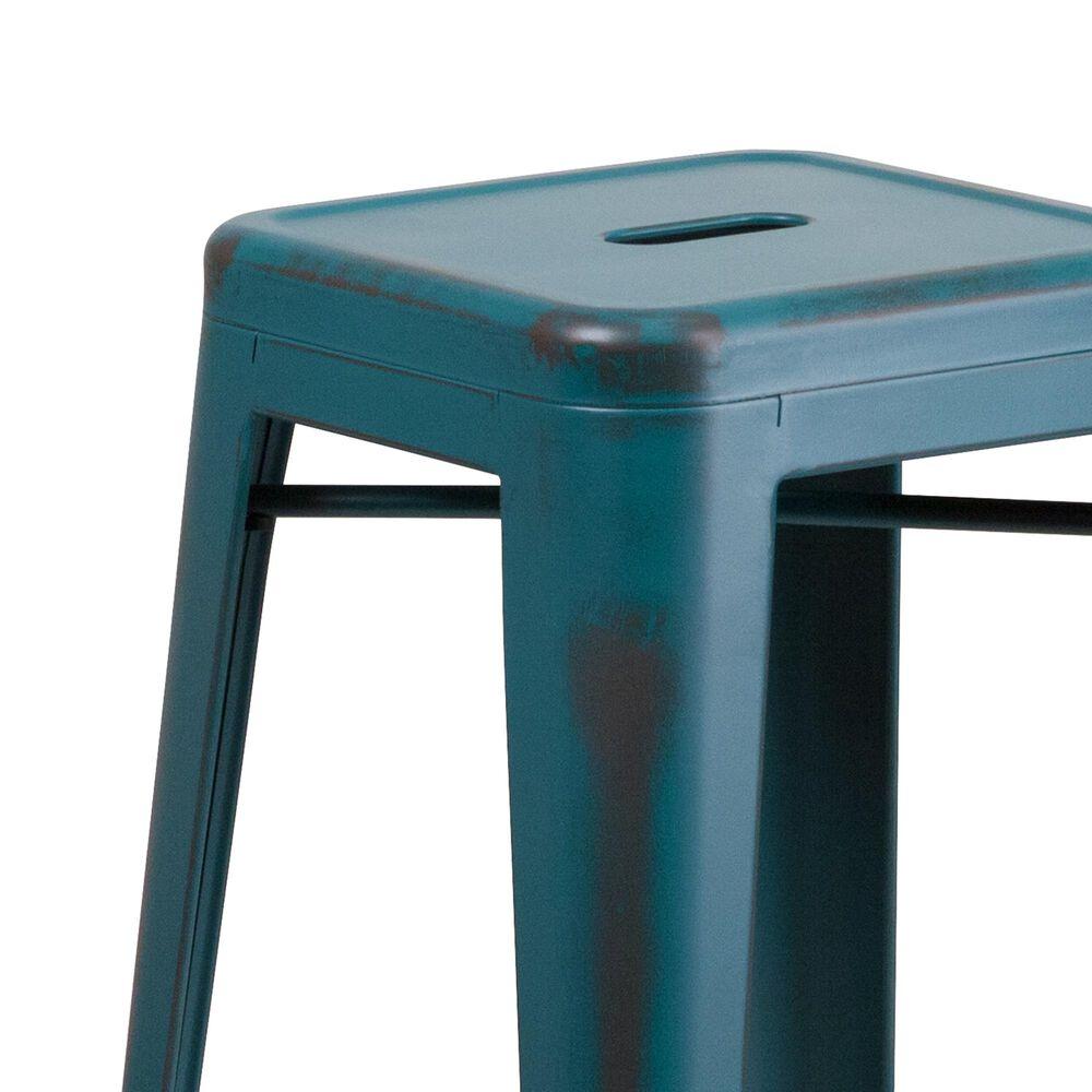 "Flash Furniture 30"" Barstool in Blue, , large"