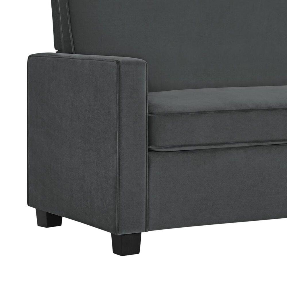 Casey Twin Sofa Sleeper in Gray, , large
