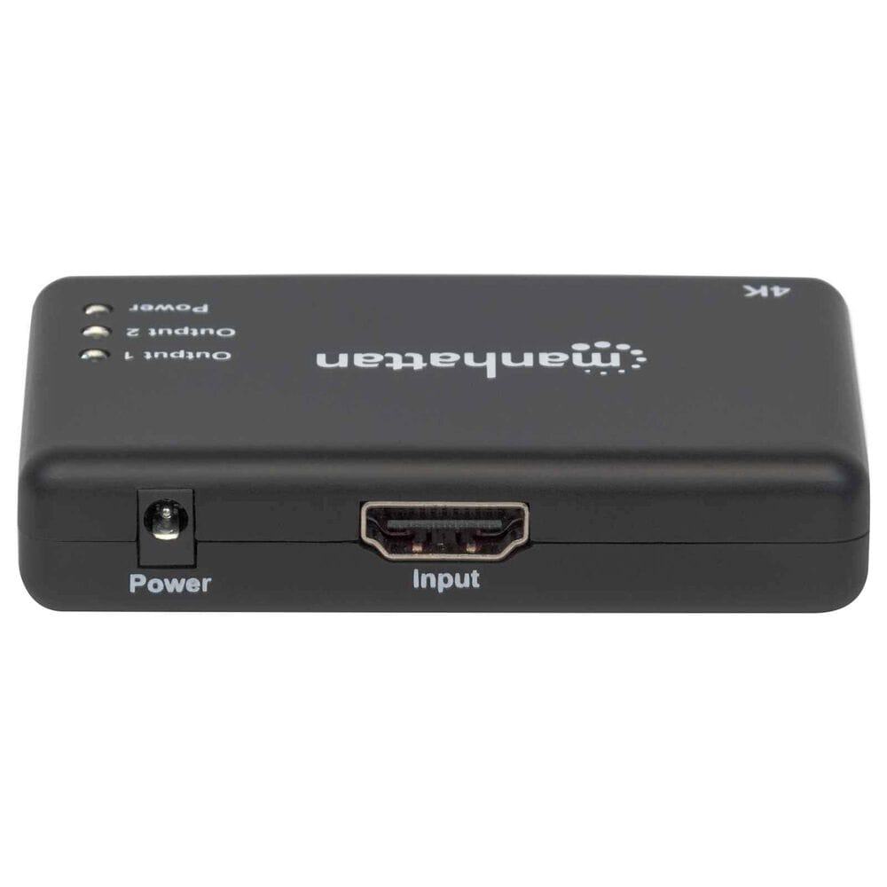 Manhattan 4K 2-Port HDMI Splitter with 4K 30Hz in Black, , large